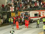 Ambulanza allo Stadio