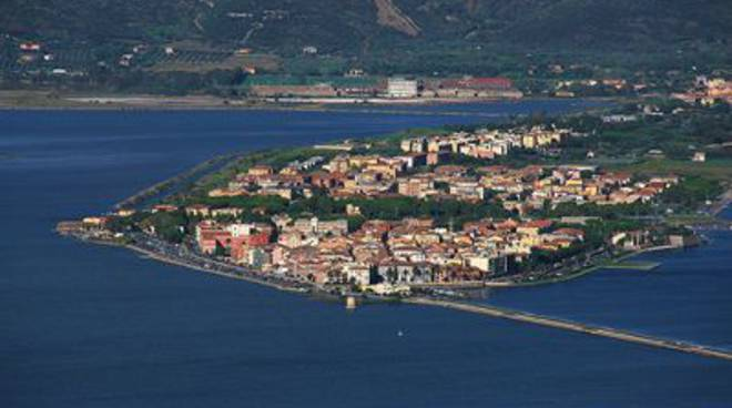 Orbetello panorama alto