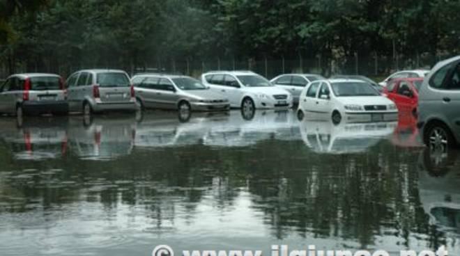 Pioggia Parcheggio