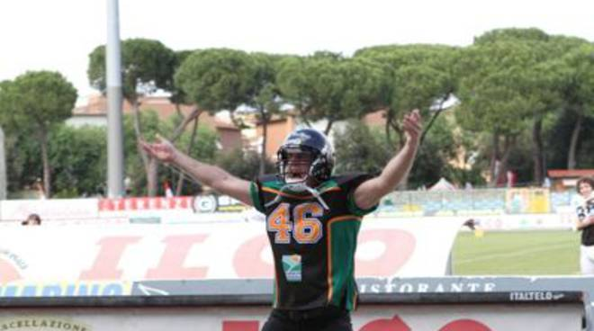 football americano veterans grosseto aft giocatore