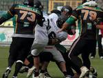football americano veterans grosseto aft giocatori in azione