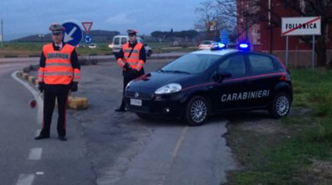 posto blocco carabinieri foll