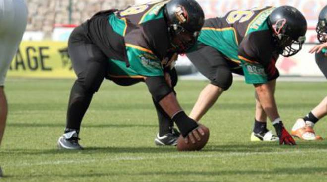 football americano veterans grosseto aft giocatori in linea