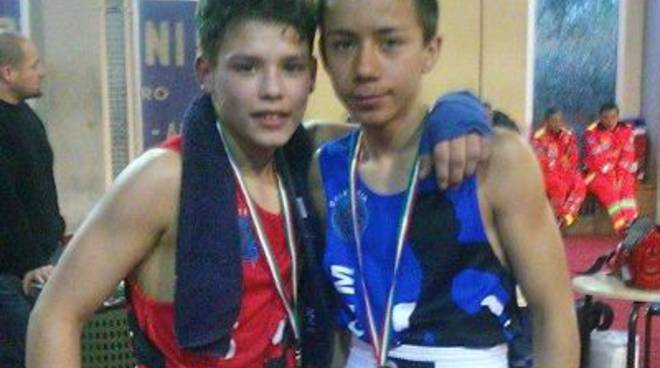 Junior pugili Fight Gym