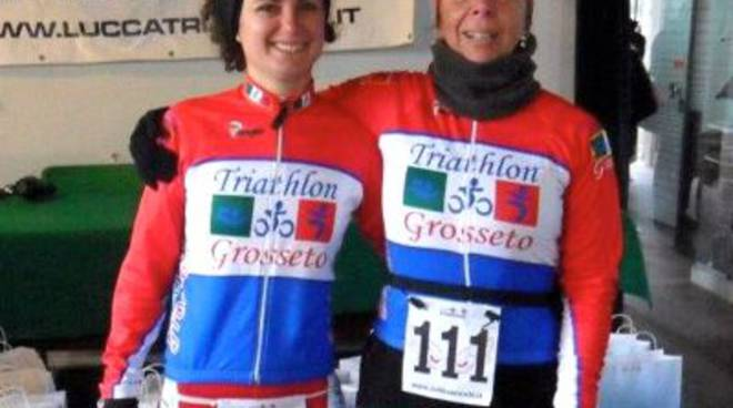 Sartoni e Gorrieri (Triathlon Grosseto)