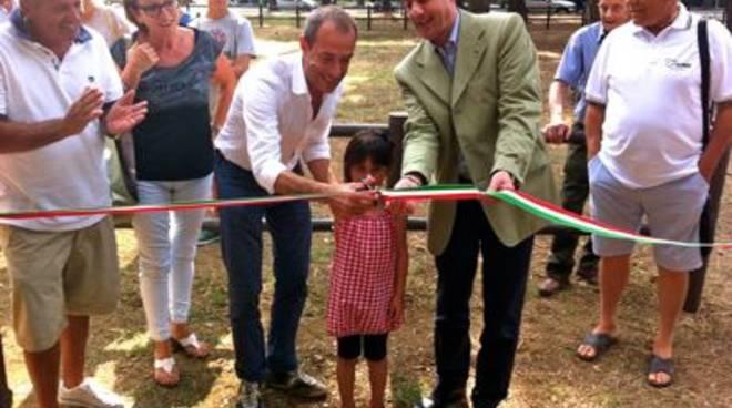 Inaugurazione parco via del Turchese