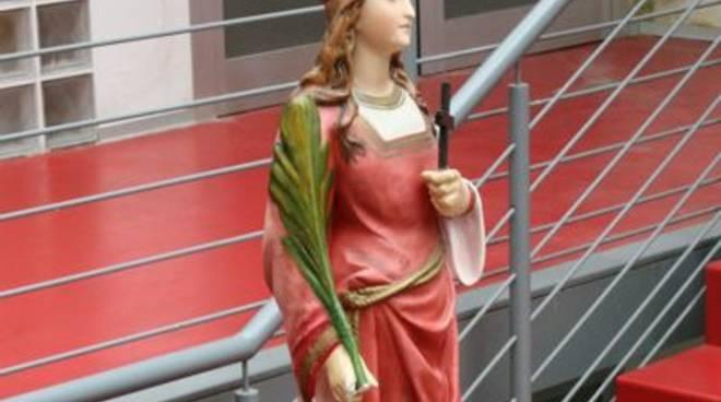 santa barbara statua