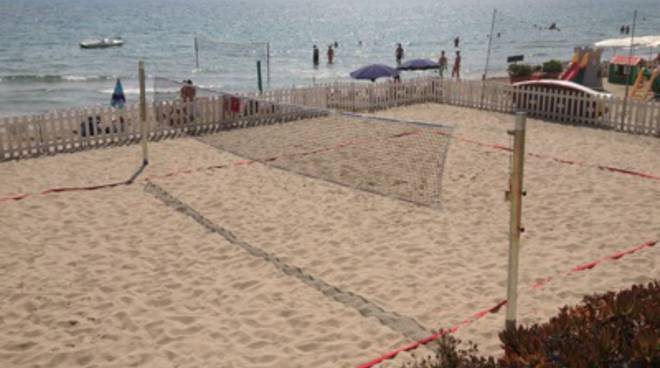 beach volley campo