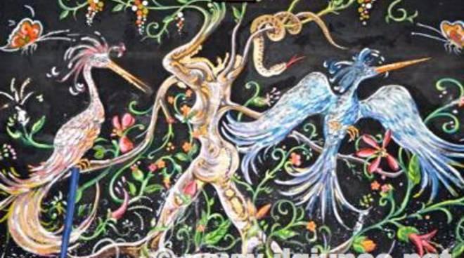 Sala Eden dipinto Amerighi