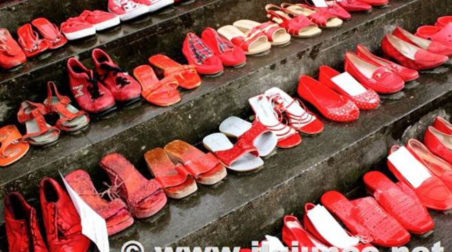 no femminicidio 2014 scarpe rosse violenza