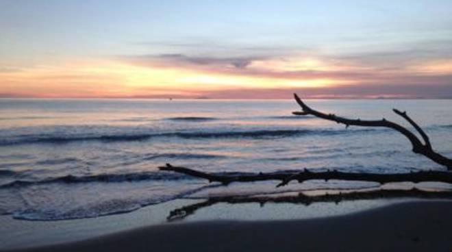 spiaggia generica_2014 tramonto