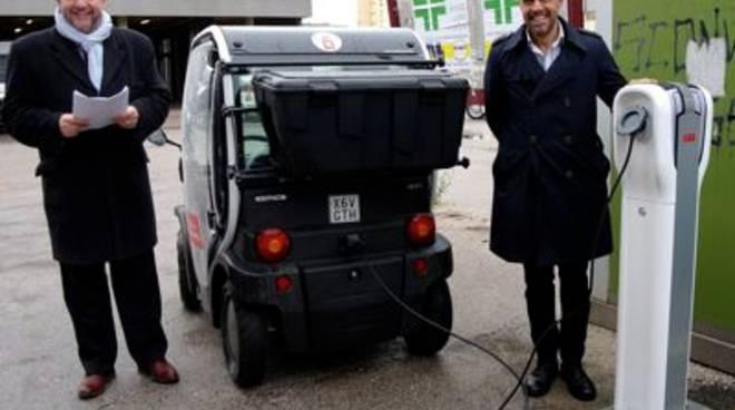 Tei auto e colonnine elettriche