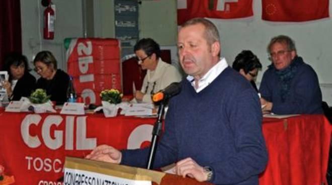 Claudio Renzetti Congresso Cgil