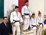Leonardo Casaglia podio (Judo)