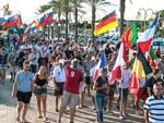 Mondiale di Vela 2014 sfilata