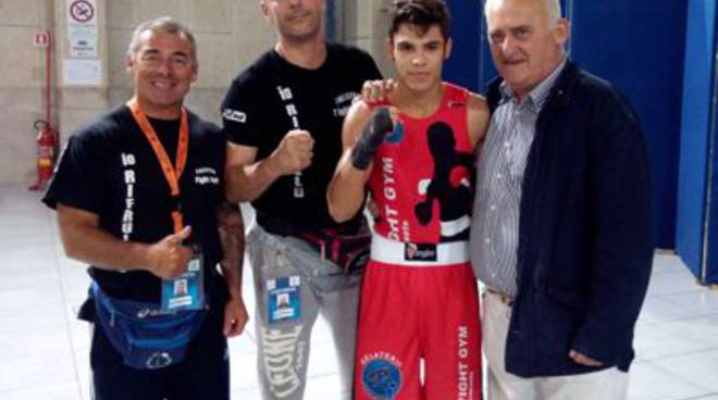 Riccardo Cimmino Fight Gym Pugilato