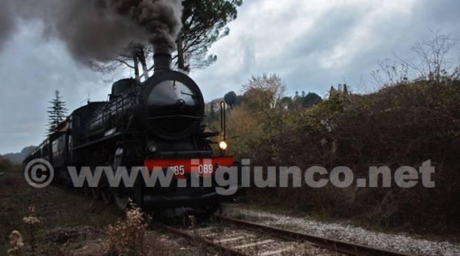 san giovanni asso treno vapore Trenonatura