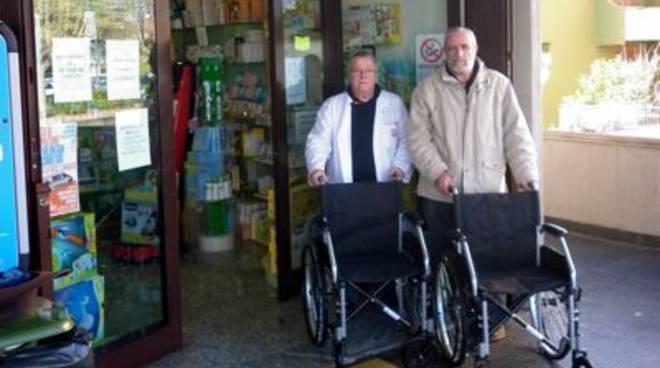 foto avis sedie a rotelle