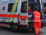 incidente rotonda 2015 ambulanza