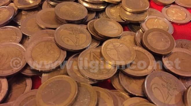 soldi spiccioli monete euro