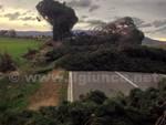maltempo strada interrotta alberi