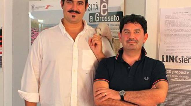 Rinaldo Favilli (Presidente) e Marco Gasparri (Vice Presidente)