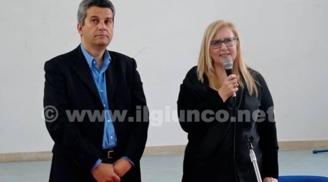 Paolo Borghi e Francesca Dini
