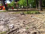 Parco giochi via Einaudi