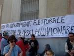 Protesta alluvionati consorzio 5