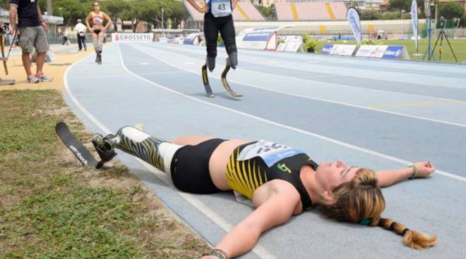 Martina Caironi atletica paralimpica