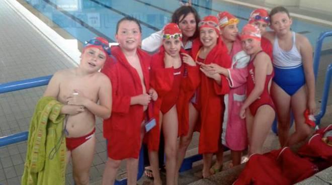 Nuoto gli esordienti b del grosseto chiudono la stagione - San marcellino piscina ...