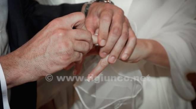matrimonio generica unione sposi