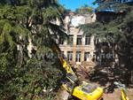 abbattimento vecchio ospedale via Saffi