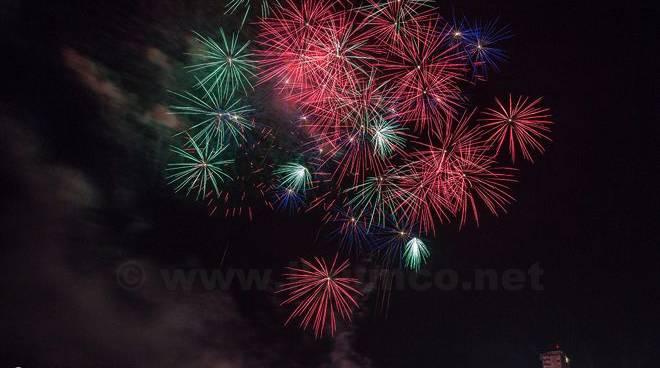 Fuochi artificio Follonica 2015