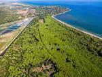 Laguna panorama dall'alto - drone