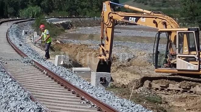 Lavori ferrovia Siena Grosseto