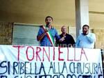 Protesta alle poste di Torniella