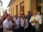 Protesta Poste Buriano
