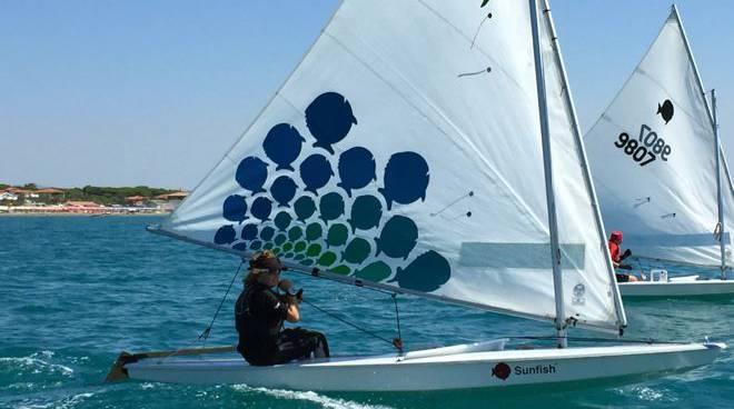 Classe sunfish vela Marina di Grosseto
