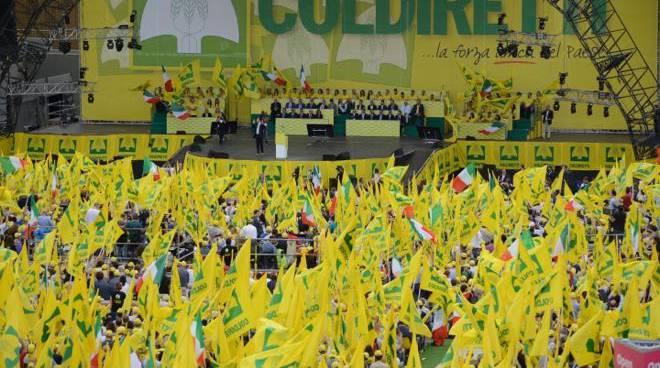 Coldiretti bandiere Expo