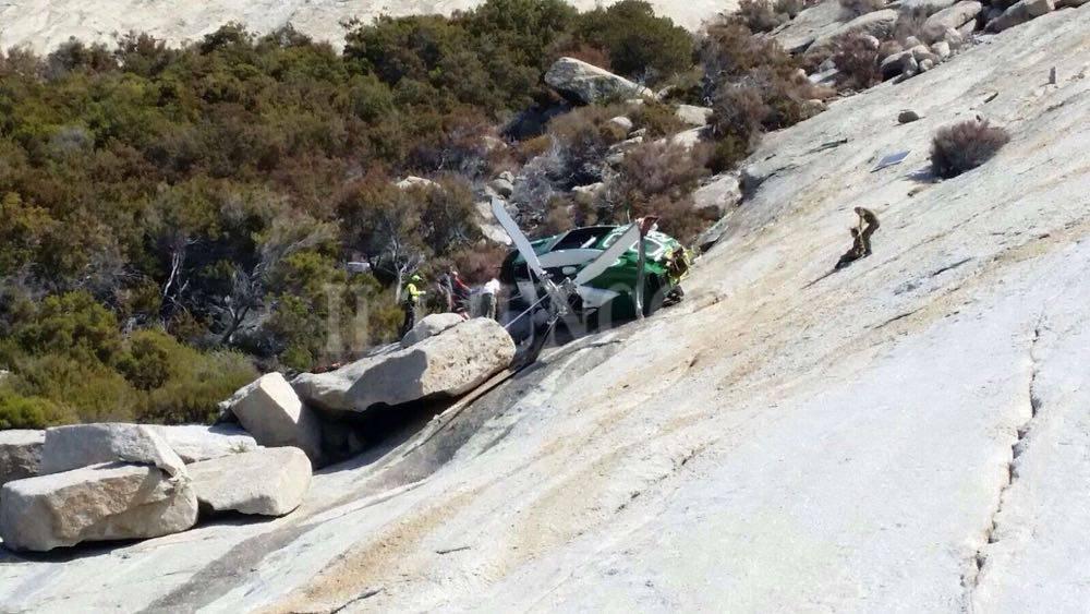 Elicottero precipitato a Montecristo