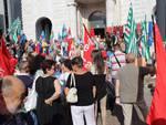 Manifestazione contro chiusura Poste 2015