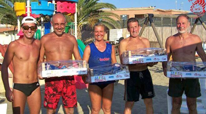 Over 40 beach volley 4x4