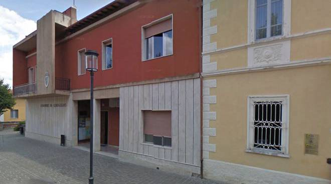 palazzo municipale Cinigiano
