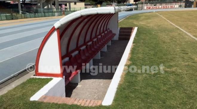 Panchina Stadio Zecchini