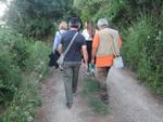 passeggiata su orme minatori trekking