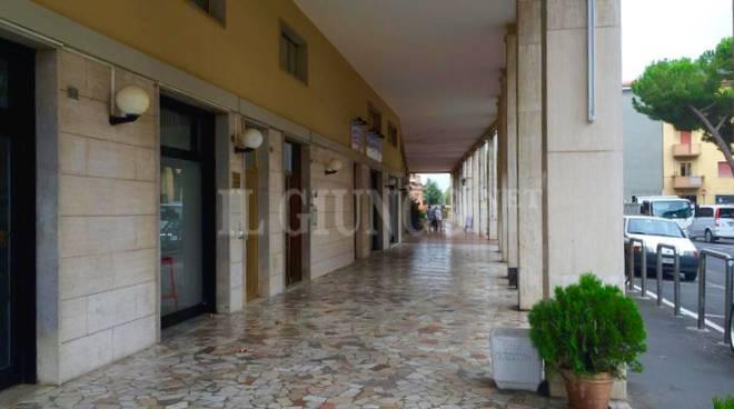 portici Barbanella via Giusti