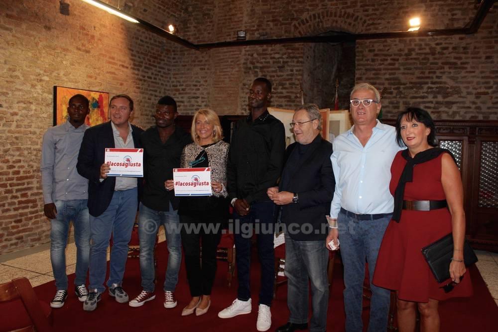 Progetto Accoglienza Migranti visita Pd
