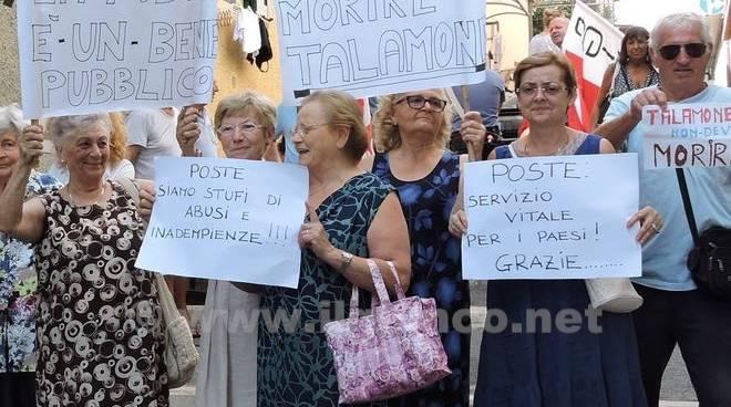 Protesta Poste Talamone 2015
