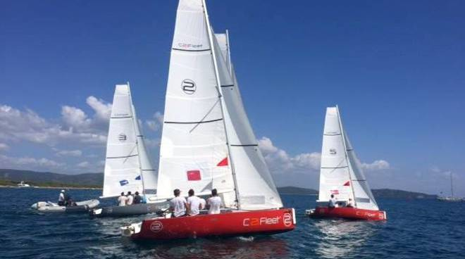 Vela 2k team racing Porto Ercole